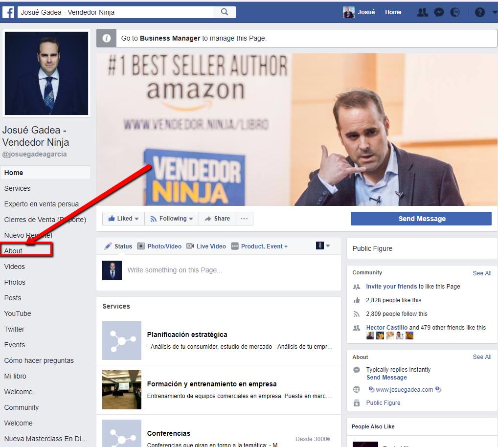 marca personal facebook